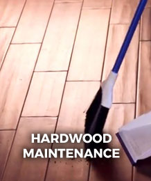 Hardwood Maintenance